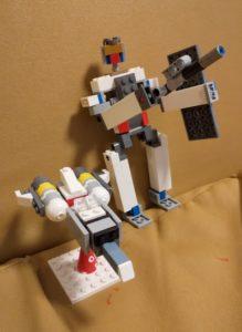 レゴブロックで作ったガンダム